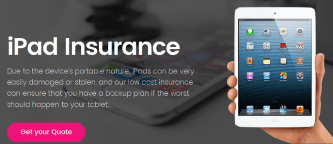 ipad insurance | tablet insurance