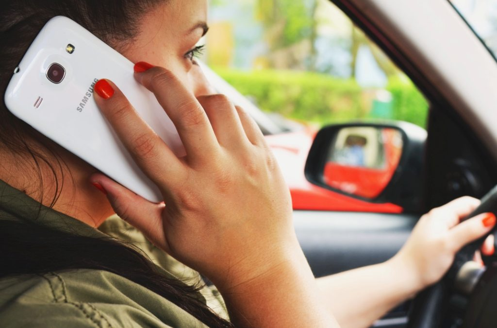 Using a mobile phone whilst driving – the law